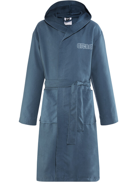 arena Zeals Bathrobe Juniors navy-white